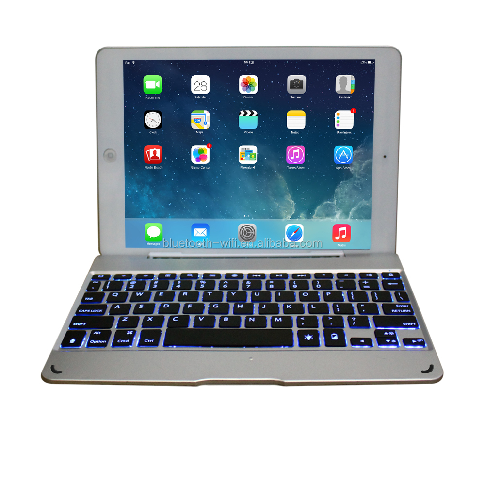 Trade assurance supplier environmetal Wireless Bamboo bluetooth keyboard for IPad2 3 4 IPad Air