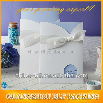fancy wedding invitation card(BLF-GC016)