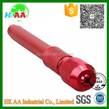 Supply precision CNC machined tattoo pen, red anodized aluminum tattoo pen for wholesale medical use