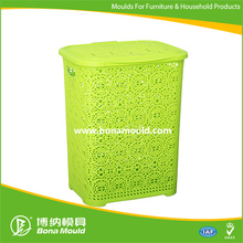 Plastic laundry basket mould