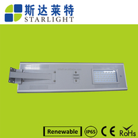 40w Wholesale chargeable brand solar panel 40 watts led street light