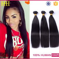 Unprocessed virgin brazilian silky straight hair 100% human hair weaving High quality and Cheap remy human hair weaving