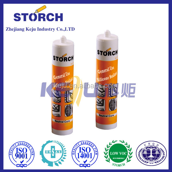 Structural neutral silicone sealant, waterproof seal stops leaking