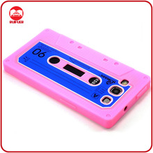 Wholesale Alibaba New Tape Cassette Skin Custom Silicone Cases for Samsung Galaxy S3