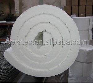 Heat Insulation Ceramic Fiber fireproof insulation blanket