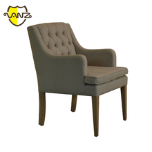 dining room button tufted back upholstered chair french chairs wholesale VZD018