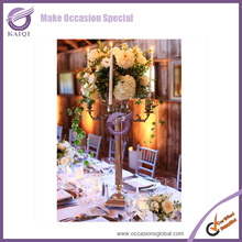 Beautiful With Candles And Flowers Wedding Table Decorations Candelabra Centerpieces For Hire