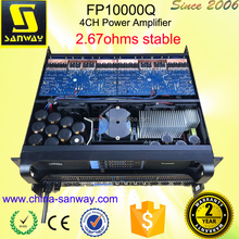 FP10000Q Portable Powerful Power Amplifier Plate