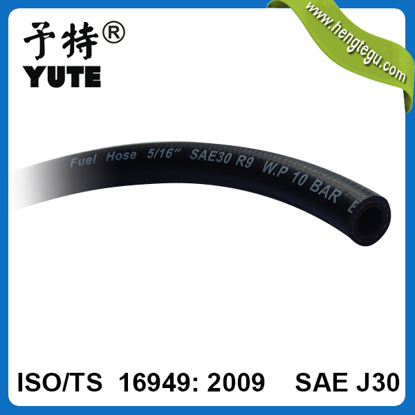 top quality transport gasoline 5/16 inch synthetic oil resistant rubber hose petrol resistant hose