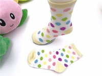 factory custom colored Children girl socks spring Kids thin tube socks