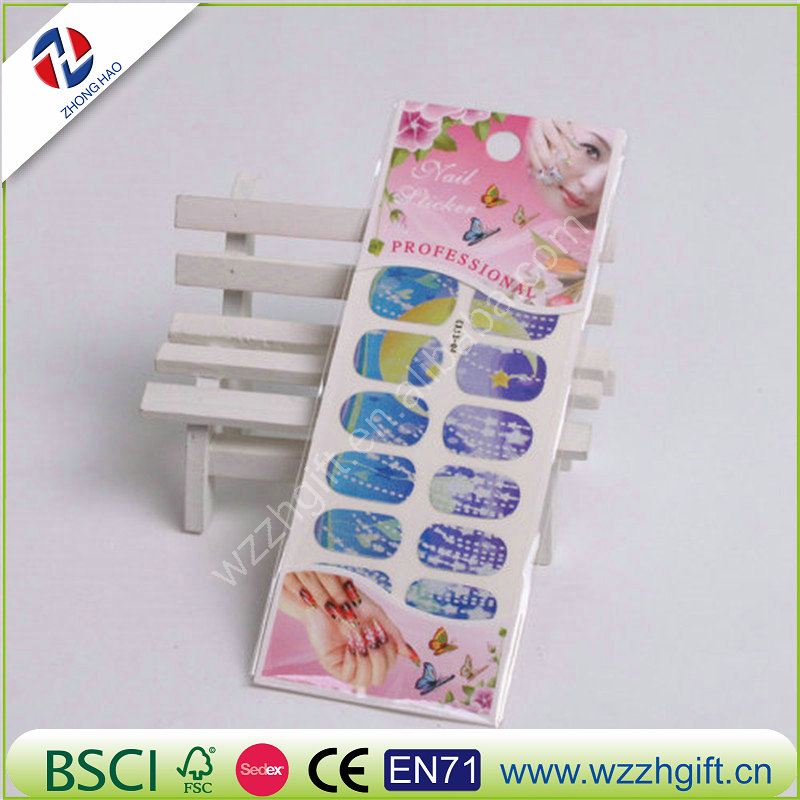 Water Transfer Flowers Shape Stickers Decor Decals Make Up Tool