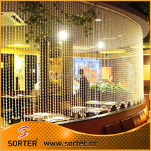 Dubai crystal beaded screen & movable screens room dividers
