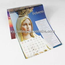 New year custom design 2015 wall hanging calendar