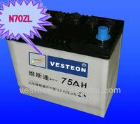 auto parts truck battery n180 12v 180ah