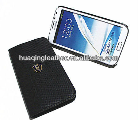 Luxury sale PU case for SamSung note2 galaxy note II N7100 in senior PU
