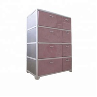 Wholesale organizer cabinet plastic stackable drawers for kids