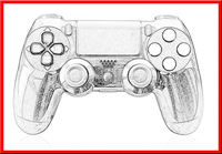 Wholesale game controller for ps4, video games controller for ps 3 console, for ps 3 console
