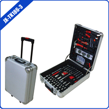 186 pcs aluminum case tool set aluminum luggage tools ITEM:JX-TK186-3