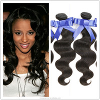 Sample Order Accept 7A 8A Body Wave Hair Extension, Human Hair Extension, 100% Unprocessed Brazilian Hair Extension