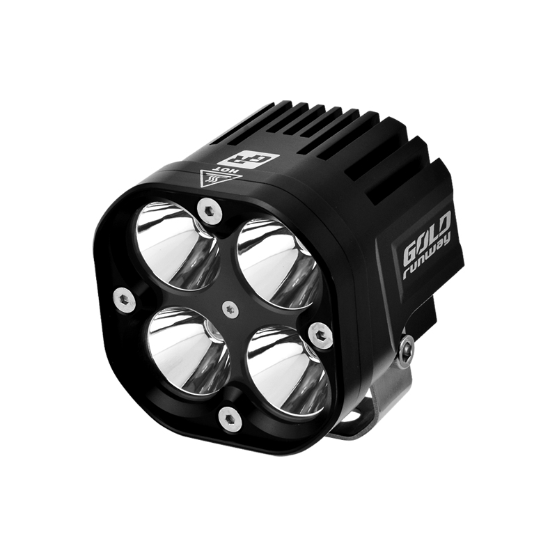 high power loading machine lights square crees 40W led work light for heavy duty vehicles