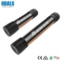 Obals Commercial Aluminum Electric 9V Blocklite Dp Torch Led Flashlight