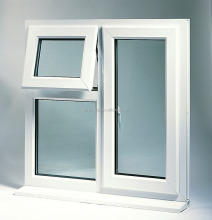 Australian standard as2047 upvc single hung window/upvc glass sliding windows