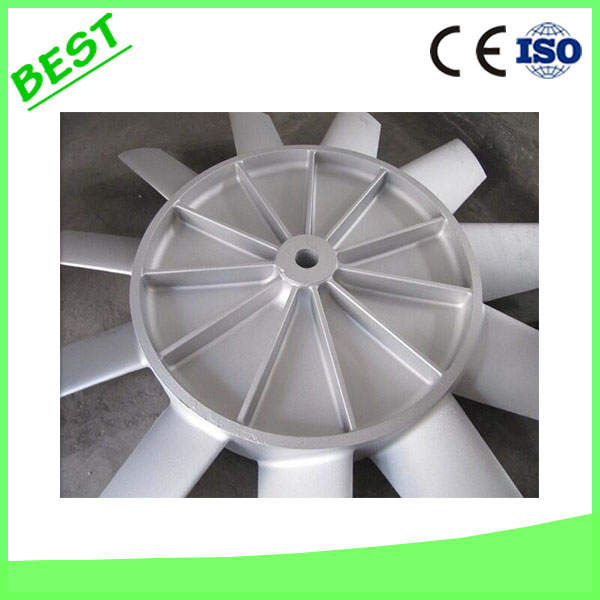High Quality A356 Die Casting Aluminum Impeller For Mining Machinery