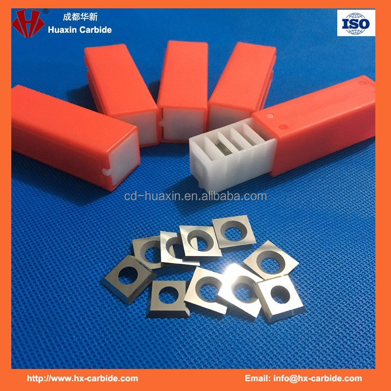 Hot sale factory price carbide knives for woodworking helical cutter head