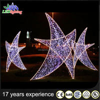 MAX star and star led lights for decoration