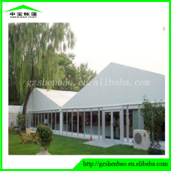 Large aluminum frame wedding tent , house shaped tents