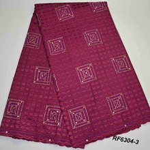 High grade 100% cotton plain indian fabric in bulk girls dress materials for curtains Stock Fabric
