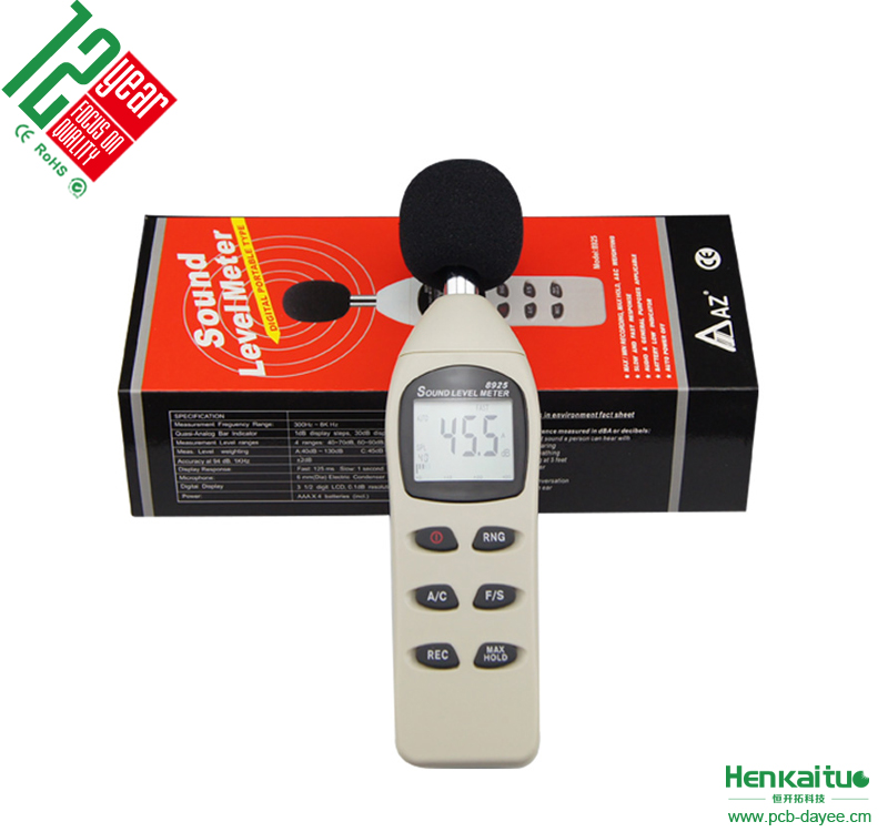 Sound Analysis Instrument 40dB~130 db Decibel Digital Noise Level Meter