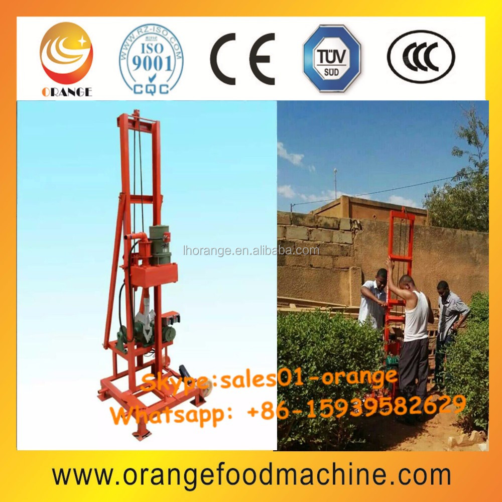 Water well drilling rig / Hand water well drilling equipment
