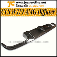 W219 AMG Carbon Fiber Diffuser For Mercedes Benz CLS-Class W219