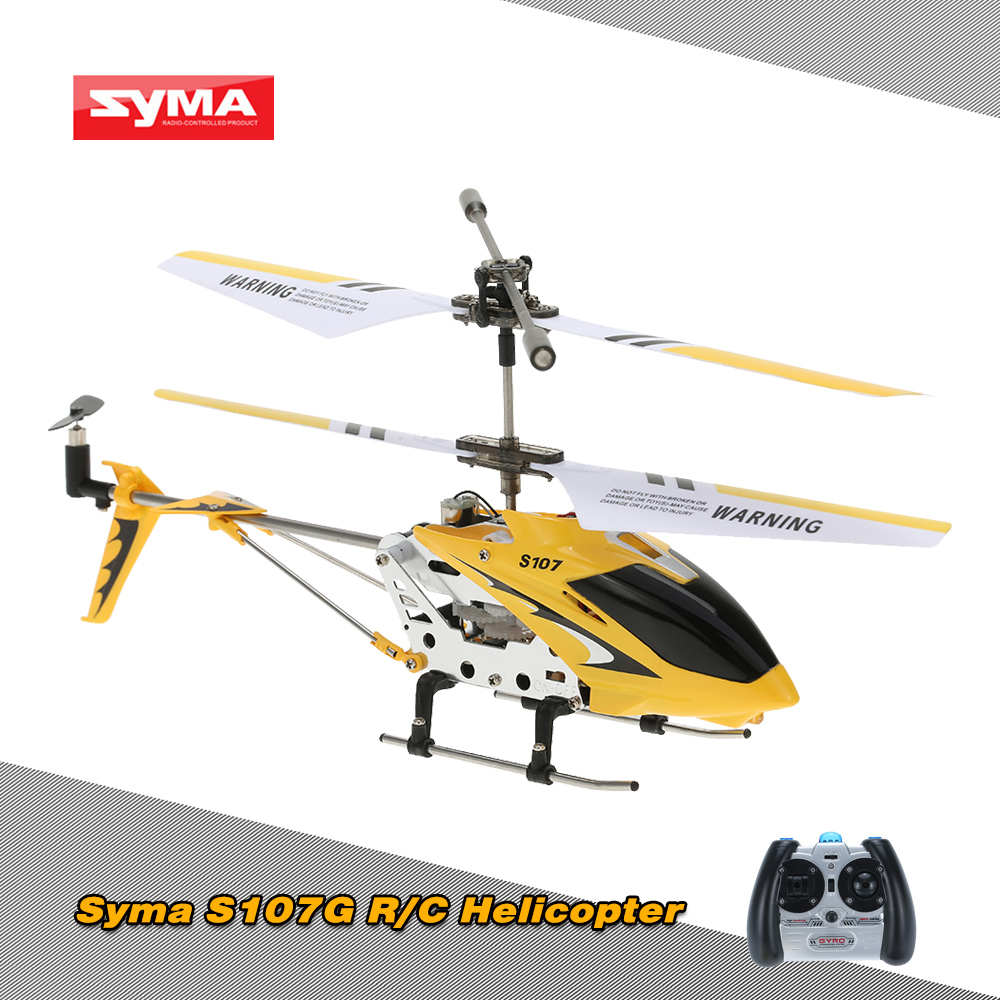 Cheap Original Syma S107G Mini 3.5 Channel Infrared RC Helicopter Shipping from US Garmany Frence Poland Shenzhen warehouse