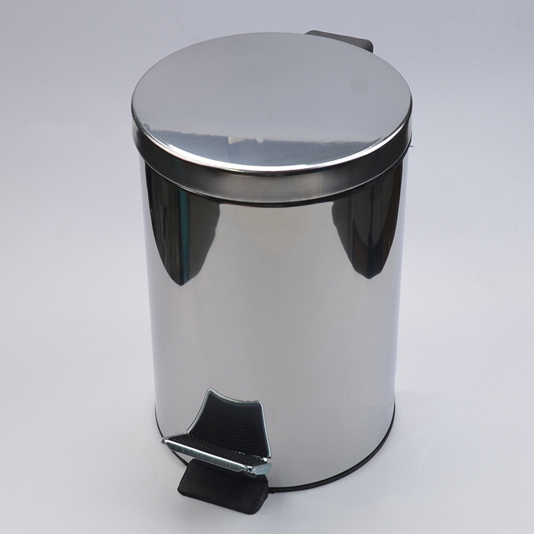 Small 9 Liter Touch free Stainless Steel Sensor Bin Motion Trash Can