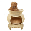 wholesale handicraft breathable waterproof durable plastic PE rattan dog house