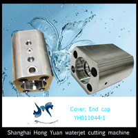 High quality end cap cover for waterjet cutting machine parts