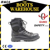 light weight goodyear full grain leather steel toe boots wholesale