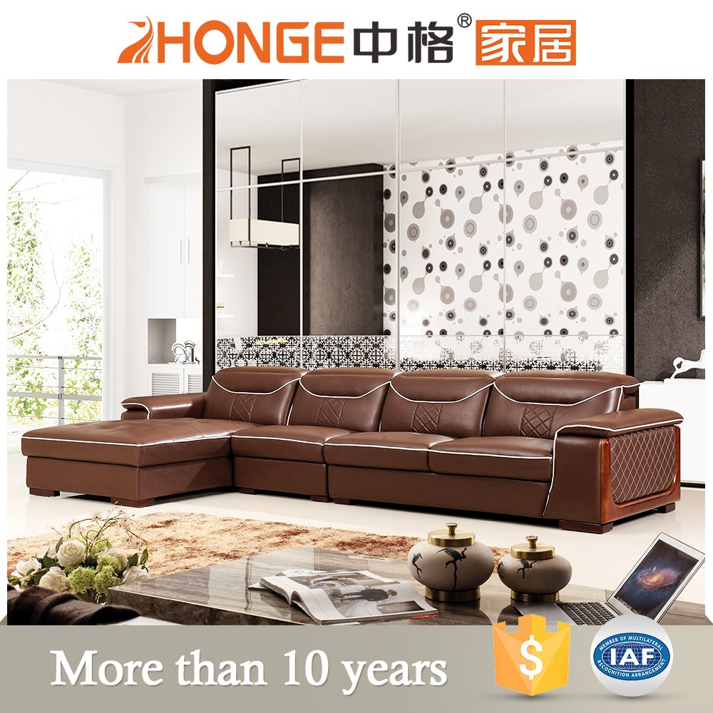 hot sale european style hotel furniture italy top grain leather sofa chesterfield