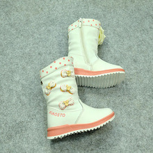 tsz1020 bow fashion winter children half boots