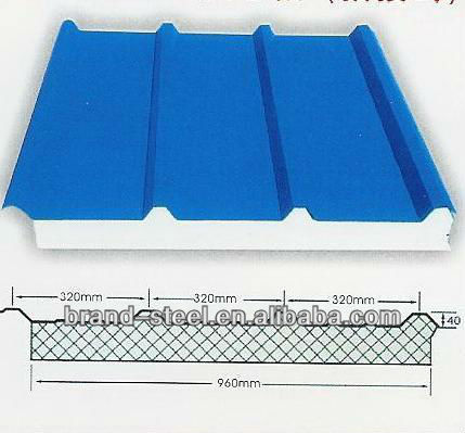 lightweight eps sandwich roof panel prefab wall foam core wall panel
