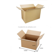 2015 Wholesales top quality print color die cut packaging corrugated vegetable carton box