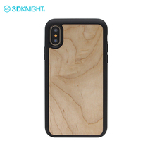 2in1 blank bumper case for iphone x 10 3d wood engraving customize