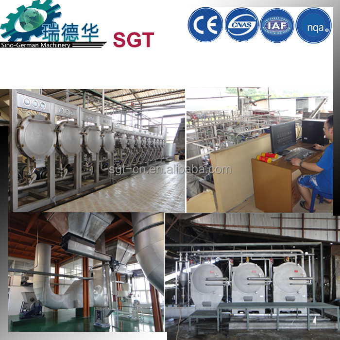 European technology potato/corn/cassava starch processing equipment