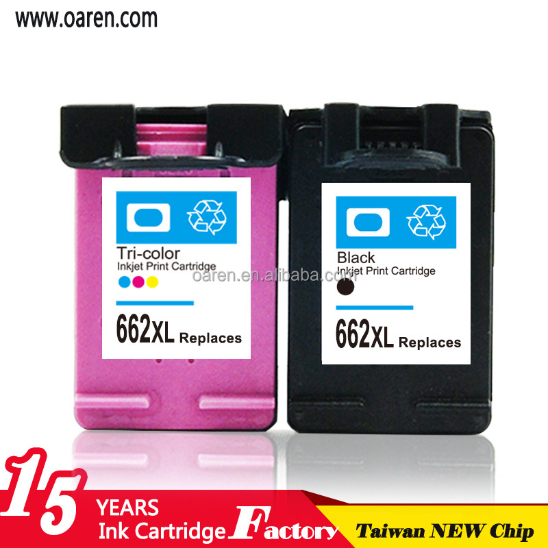 CZ105A CZ106A Compatible for HP662 Ink cartridge 1515 for hp printer ink