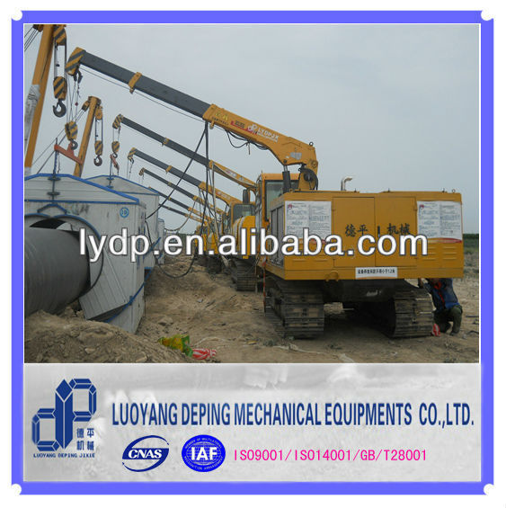 PAYWELDER WITH INTENATIONAL GENERATOR FOR PIPELINE CONSTRUCTION