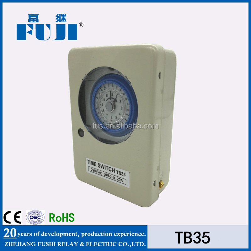 Household 24hours manual Mechanical Timer Switch TB35