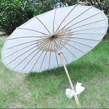 2017 Chinese wind unique decorative photo screen printing oil paper umbrella