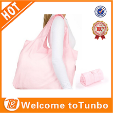 2015 fashion 190T polyester recycled shopping bag